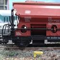 Güterwagen (Bauart Tds) auf der Modellbahn